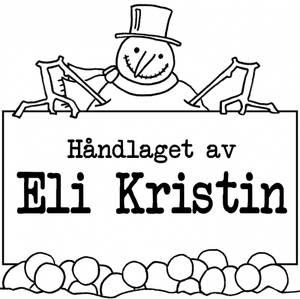 Bilde av PS Snømann 4x4cm